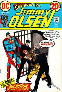 Cover Thumbnail for Superman's Pal, Jimmy Olsen (DC, 1954 series) #155