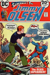Cover Thumbnail for Superman's Pal, Jimmy Olsen (DC, 1954 series) #161