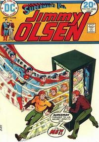 Cover Thumbnail for Superman's Pal, Jimmy Olsen (DC, 1954 series) #162