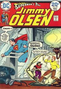 Cover Thumbnail for Superman's Pal, Jimmy Olsen (DC, 1954 series) #163