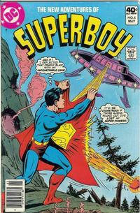 Cover Thumbnail for The New Adventures of Superboy (DC, 1980 series) #5