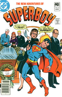 Cover Thumbnail for The New Adventures of Superboy (DC, 1980 series) #8