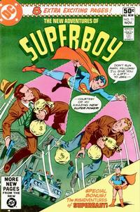 Cover Thumbnail for The New Adventures of Superboy (DC, 1980 series) #11 [Direct]