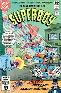 Cover Thumbnail for The New Adventures of Superboy (DC, 1980 series) #14 [Direct]