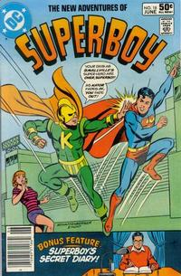 Cover Thumbnail for The New Adventures of Superboy (DC, 1980 series) #18 [Newsstand]
