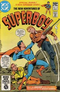 Cover Thumbnail for The New Adventures of Superboy (DC, 1980 series) #19 [Direct]