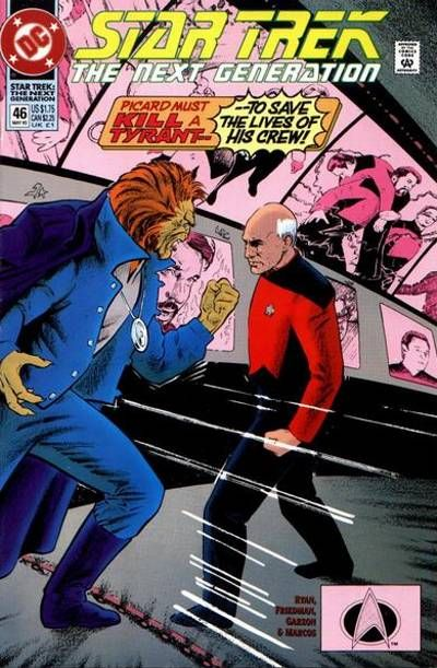 Cover for Star Trek: The Next Generation (DC, 1989 series) #46