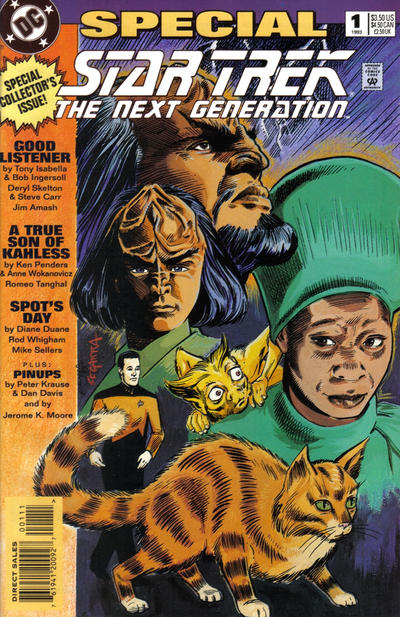 Cover for Star Trek: The Next Generation Special (DC, 1993 series) #1