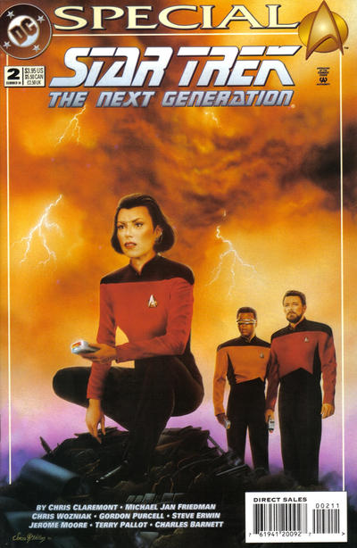 Cover for Star Trek: The Next Generation Special (DC, 1993 series) #2