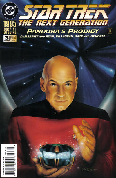 Cover for Star Trek: The Next Generation Special (DC, 1993 series) #3