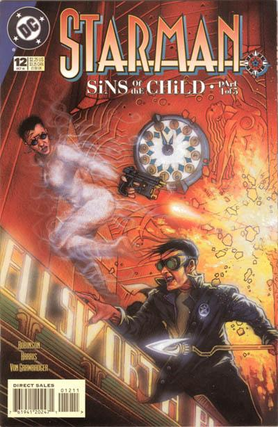 Cover for Starman (DC, 1994 series) #12