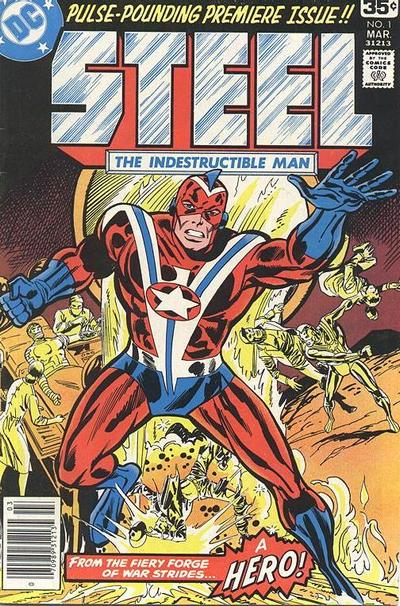 Cover for Steel, the Indestructible Man (DC, 1978 series) #1