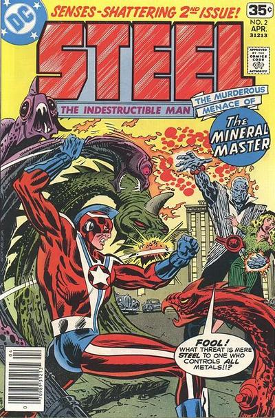 Cover for Steel, the Indestructible Man (DC, 1978 series) #2