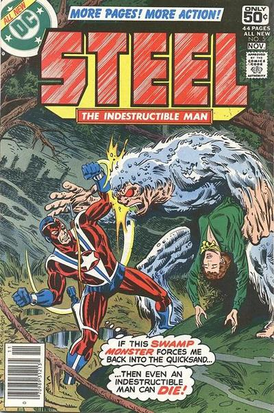 Cover for Steel, the Indestructible Man (DC, 1978 series) #5