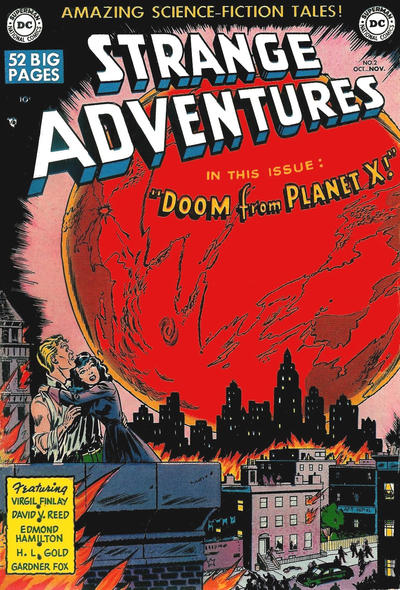 Cover for Strange Adventures (DC, 1950 series) #2
