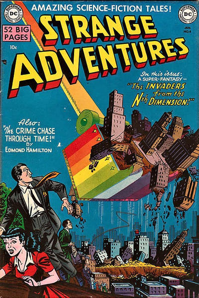 Cover for Strange Adventures (DC, 1950 series) #4
