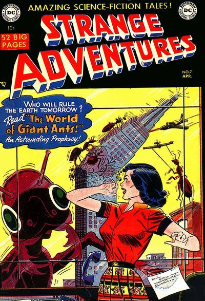 Cover for Strange Adventures (DC, 1950 series) #7