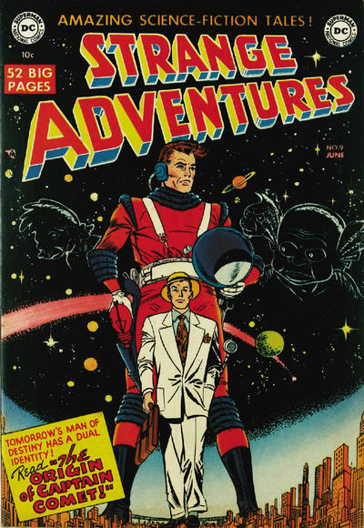 Cover for Strange Adventures (DC, 1950 series) #9