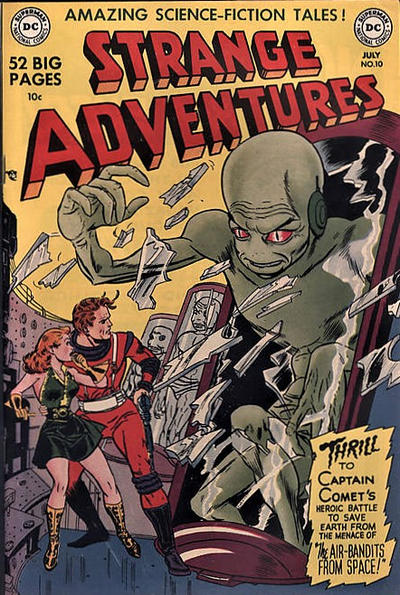Cover for Strange Adventures (DC, 1950 series) #10