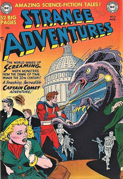 Cover for Strange Adventures (DC, 1950 series) #11