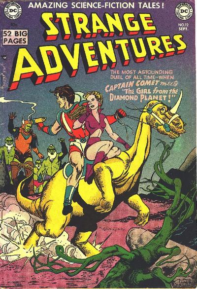Cover for Strange Adventures (DC, 1950 series) #12