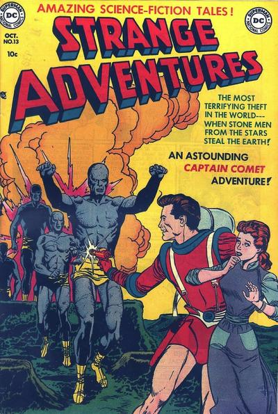 Cover for Strange Adventures (DC, 1950 series) #13