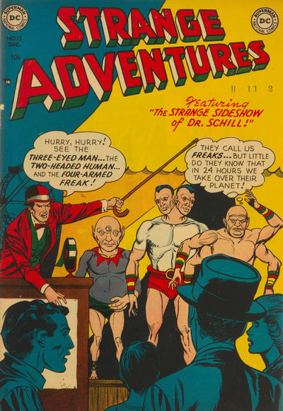 Cover for Strange Adventures (DC, 1950 series) #15
