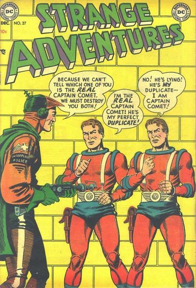 Cover for Strange Adventures (DC, 1950 series) #27