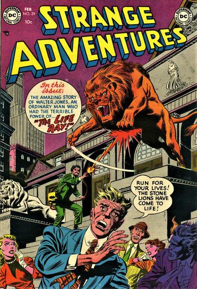 Cover for Strange Adventures (DC, 1950 series) #29