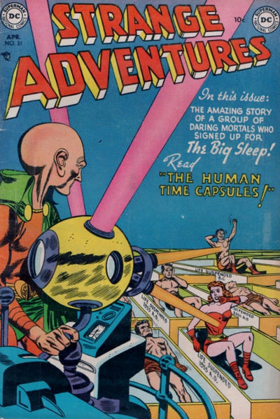 Cover for Strange Adventures (DC, 1950 series) #31