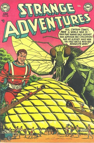 Cover for Strange Adventures (DC, 1950 series) #33