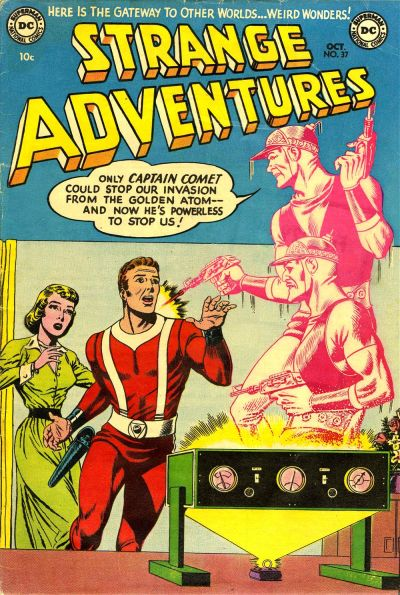 Cover for Strange Adventures (DC, 1950 series) #37