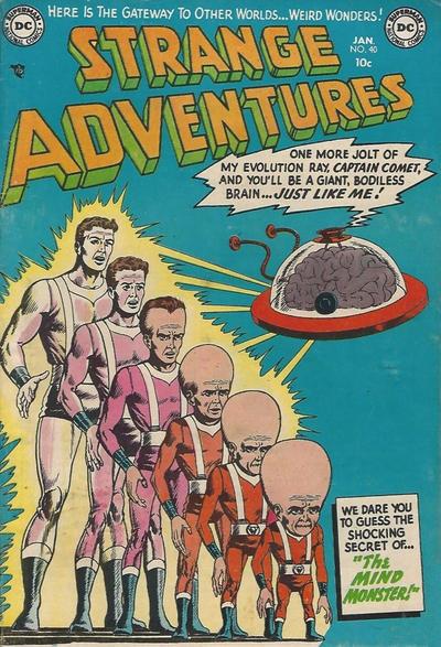 Cover for Strange Adventures (DC, 1950 series) #40