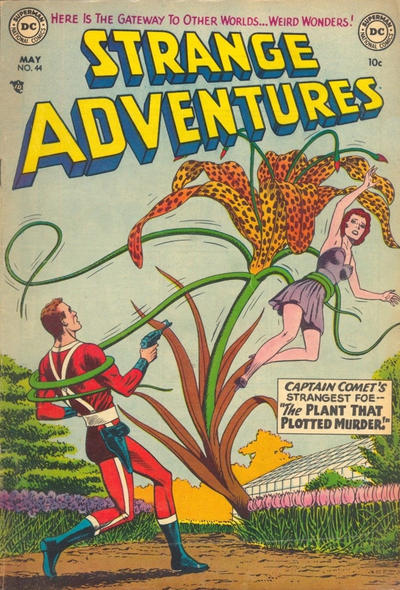 Cover for Strange Adventures (DC, 1950 series) #44