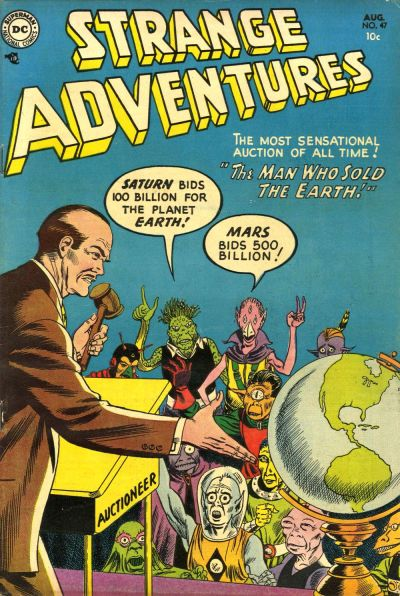 Cover for Strange Adventures (DC, 1950 series) #47