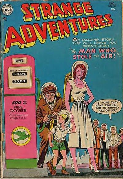 Cover for Strange Adventures (DC, 1950 series) #51