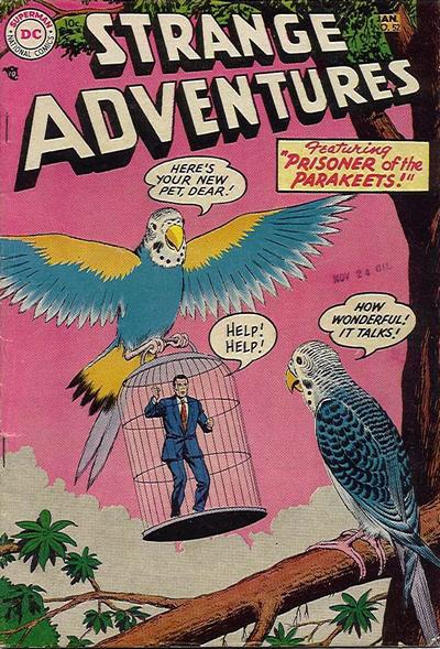 Cover for Strange Adventures (DC, 1950 series) #52
