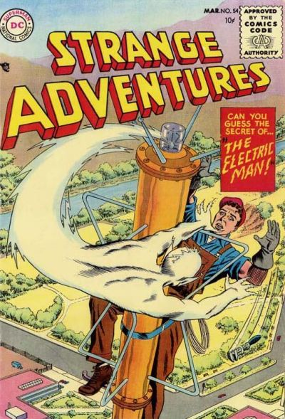 Cover for Strange Adventures (DC, 1950 series) #54