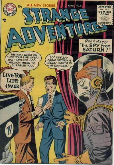 Cover for Strange Adventures (DC, 1950 series) #57