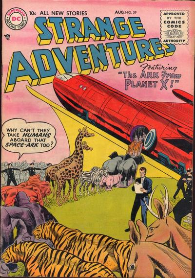 Cover for Strange Adventures (DC, 1950 series) #59