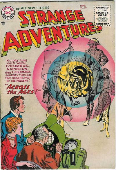 Cover for Strange Adventures (DC, 1950 series) #60