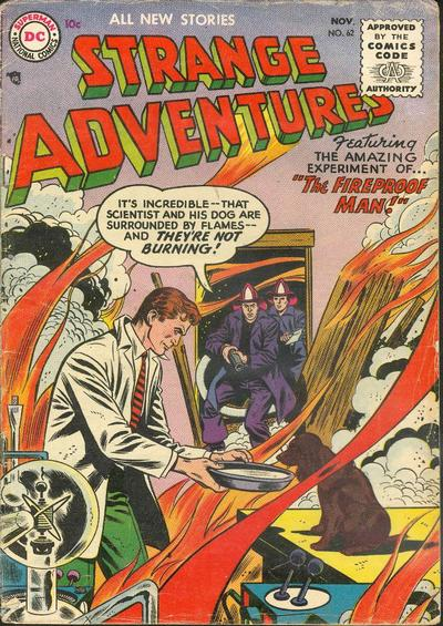 Cover for Strange Adventures (DC, 1950 series) #62