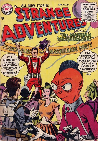 Cover for Strange Adventures (DC, 1950 series) #67
