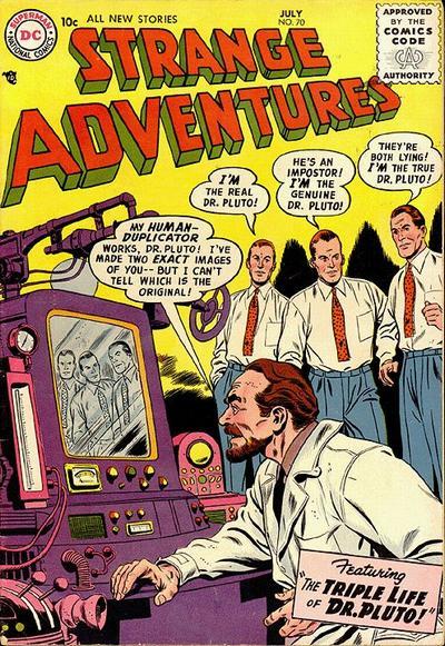 Cover for Strange Adventures (DC, 1950 series) #70