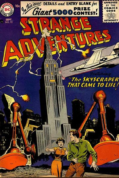 Cover for Strange Adventures (DC, 1950 series) #72