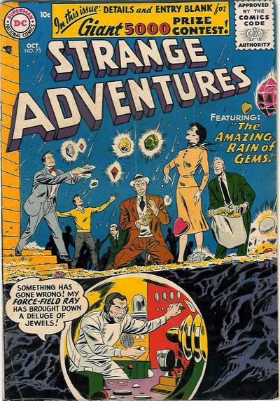 Cover for Strange Adventures (DC, 1950 series) #73