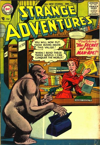 Cover for Strange Adventures (DC, 1950 series) #75