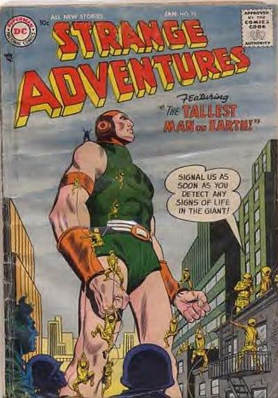 Cover for Strange Adventures (DC, 1950 series) #76