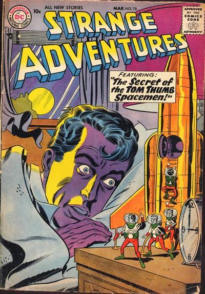 Cover for Strange Adventures (DC, 1950 series) #78