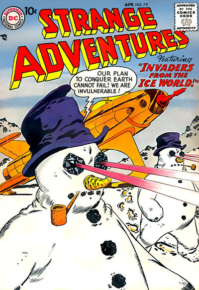 Cover for Strange Adventures (DC, 1950 series) #79
